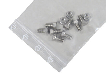 LDPE-Druckverschlussbeutel 50 µm - Standard - VE...