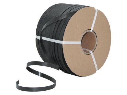 Umreifungsband (PP) - schwarz - geprägt -...