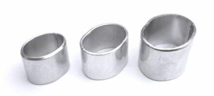 Würgeklemmen - verzinkt - 100 Stück - 8 mm
