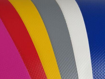 PVC-Plane - rund - ohne Ösen 350 cm zinkgelb
