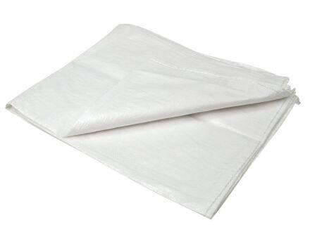 PP Gewebesäcke - weiß - VE 50 Stck 90 cm x 130 cm