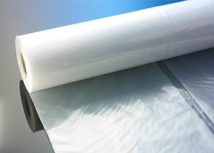 LDPE Flachfolie 100 my - transparent - 4 m x 50 m