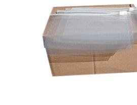 Flugsicherheitsbeutel 75 µm - transparent - 250 x 170 mm - VE 1000 Stück
