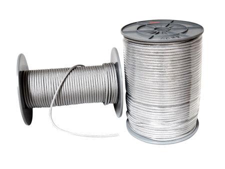 Spannseil - grau - 6 mm Durchmesser