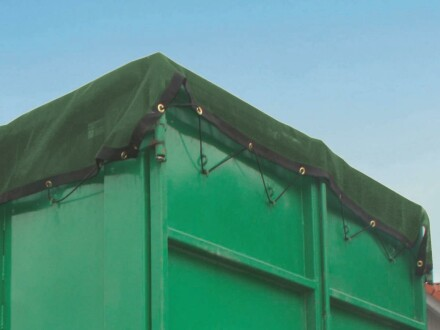 Containernetz - mit Messingösen alle 40 cm 3,20 m x 7,50 m