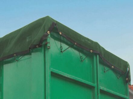 Containernetz - mit Messingösen alle 40 cm 3,20 m x 8,00 m