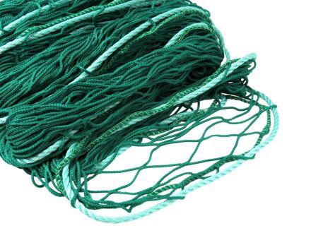 Personenauffangnetz - ringsum mit 12 mm Randseil - grün 6,00 m x 10,00 m