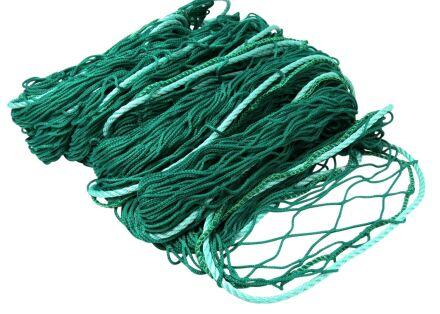 Personenauffangnetz - ringsum mit 12 mm Randseil - grün 10,00 m x 10,00 m