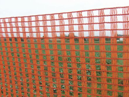 Schneeschutzzaun - ohne Zubehör - 1,20 m x 50 m orange