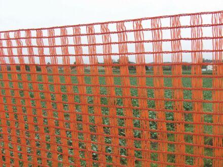 Schneeschutzzaun - ohne Zubehör - 1,80 m x 50 m orange