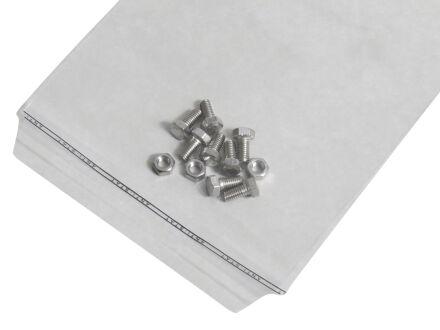 Adhäsionsverschlussbeutel 40 µm (PP) 300 x 400 mm - Klappenbreite 50 mm - gelocht - VE 1000 Stck