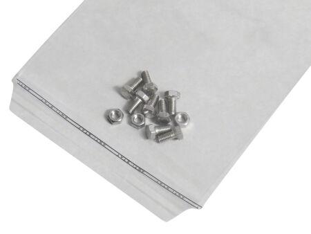 Adhäsionsverschlussbeutel 50 µm (PE) 165 x 220 mm - Klappenbreite 30 mm - VE 1000 Stck