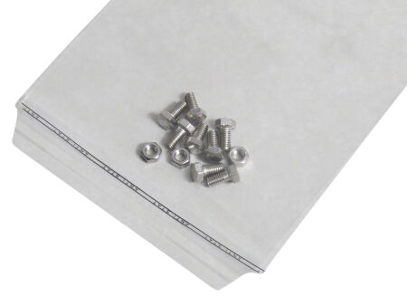 Adhäsionsverschlussbeutel 50 µm (PE) 250 x 350 mm - Klappenbreite 50 mm - VE 1000 Stck