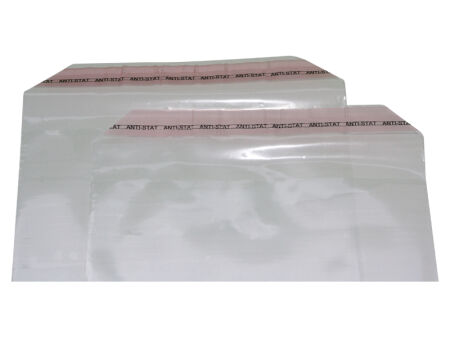 Adhäsionsverschlussbeutel 70 µm (PE) 225 x 310 mm - Klappenbreite 40 mm - VE 1000 Stck