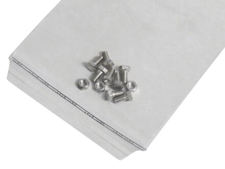 Adhäsionsverschlussbeutel 70 µm (PE) 220 x 300 mm - Klappenbreite 30 mm - VE 1000 Stck