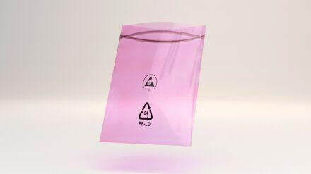 Antistatische Druckverschlussbeutel 50 µm 200 x 300 mm - VE 1000 Stck