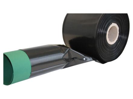 LDPE Schlauchfolie schwarz - 100 µm 150 mm x 250 m