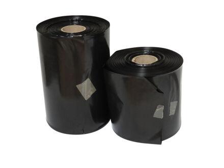 LDPE Schlauchfolie schwarz - 100 µm 500 mm x 250 m