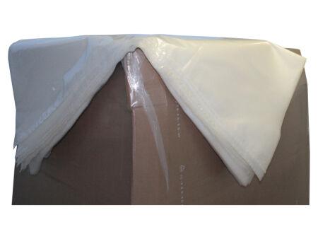 Schrumpfhaube (PE) - transparent 1.250 mm + 850 mm x 2.400 mm - VE 20 Stck