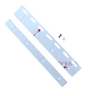 Befestigungsplatte inkl. Schrauben für PVC-Lamellen...