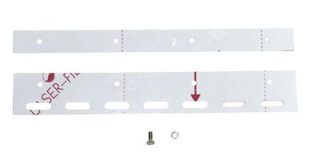 Befestigungsplatte inkl. Schrauben für PVC-Lamellen 400 mm