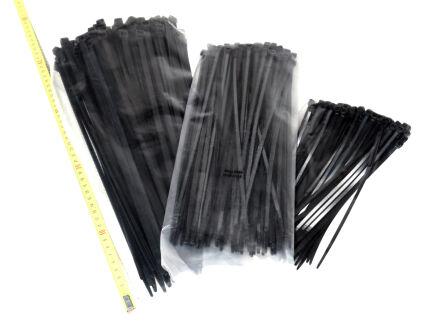 Kabelbinder - schwarz - VE 100 Stck 7,8 mm x 380 mm