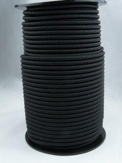 Expanderseil - Gummiseil - kunststoffumflochten - Rolle mit 100 m 6 mm weiss