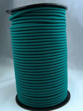 Expanderseil - Gummiseil - kunststoffumflochten - Rolle mit 100 m 6 mm grün