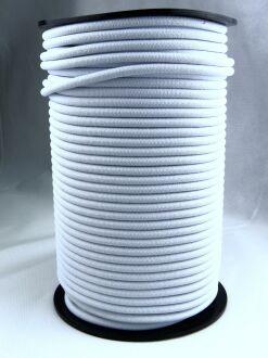 Expanderseil - Gummiseil - kunststoffumflochten - Rolle mit 100 m 8 mm schwarz