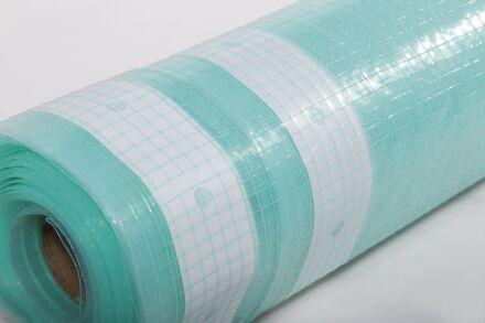 Gitterfolie - Abdeckfolie - grün-transparent 2,0 m x...