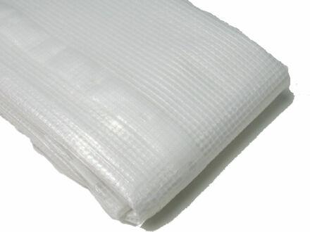 Gitterfolie - Abdeckfolie - weiß-transparent 6 m x 8 m