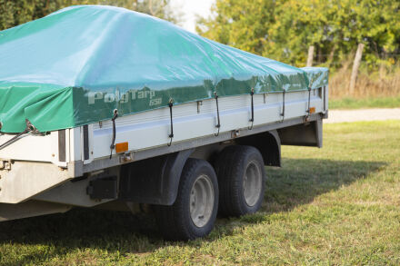 PVC-Plane - LKW-Plane - 650 g/m² - grün 3,5 m x 5,0 m