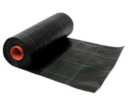 Bodengewebe - Unkrautgewebe - Unkrautvlies - schwarz 1,25 m x 100 m
