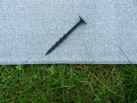 Rasenschutznetz - B1 - schwerentflammbar - 4 x 50 m