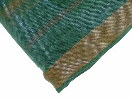 Silo-Schutzgitter - Profi-Qualität - grün 10 m x 30 m