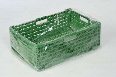 Seitenfaltensäcke - transparent - 40 µm - 1250 + 850 x 1850 mm - VE 50 Stück