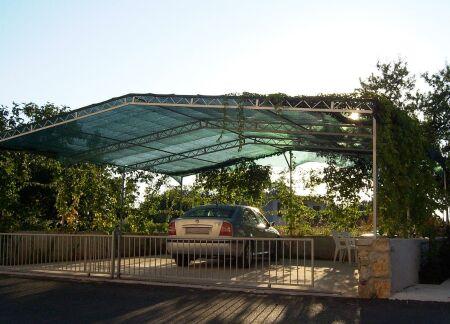Carportabdeckung - 200 g/m² - mit Randverstärkung und Ösen