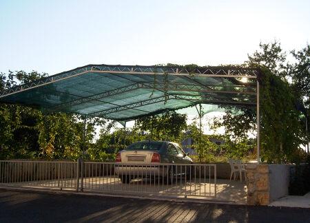 Carportabdeckung - 200 g/m² - mit Randverstärkung
