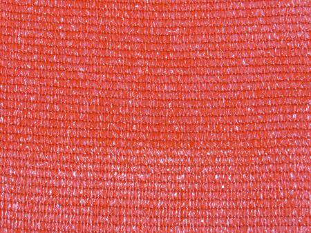 Schattiernetz - Sonnenschutznetz - Schutzwert 65-91% - rot