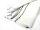 Gerüstnetz - Gerüstschutznetz - leichte Ausführung - 2,57 m x 20 m weiß