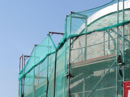 Gerüstnetz - Gerüstschutznetz - leichte Ausführung - 3,07 m x 20 m blau
