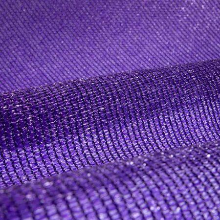 Sichtschutznetz - Schutzwert 65-91% - violett
