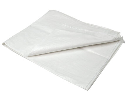 PP Gewebesäcke - weiß - VE 50 Stck 180 cm x...