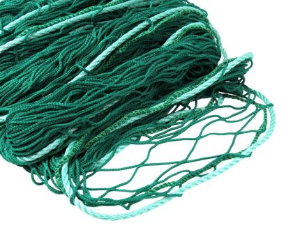 Personenauffangnetz - ringsum mit 12 mm Randseil - grün