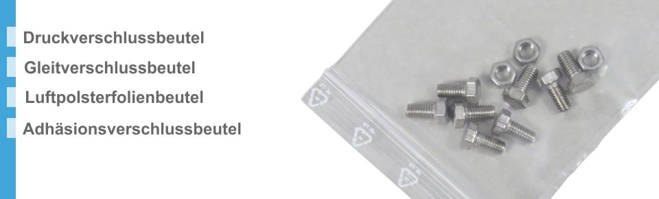 Gleitverschlussbeutel transparent